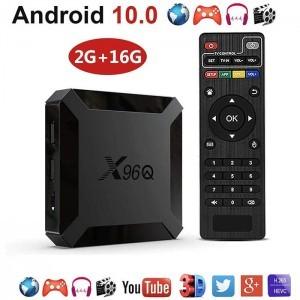 X96Q Android 10 Smart TV Box 2GB Ram 16GB Rom 4K WiFi