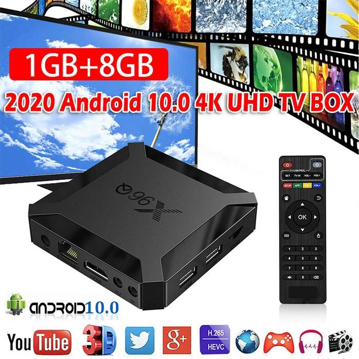 X96Q Android 10 Smart TV Box 1GB Ram 8GB Rom 4K WiFi